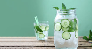 cucumber water for hydration
