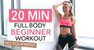 Full Body Womens Home workout - Beginners Video Tutorial
