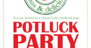 potluck party : protein rich vegan recipes