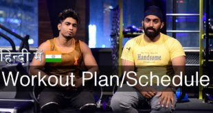पूरे सप्ताह का WORKOUT Routine/Schedule   MENS & WOMENS   @Fitness Fighters