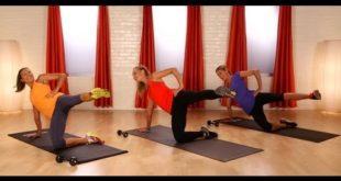 10-Minute Pilates Butt Workout | Celebrity Fitness | Class FitSugar