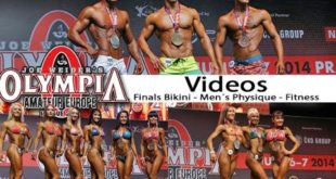 Amateur Mr. Olympia Europe 2014 - Women´s Fitness, Bikini und Men´s Physique