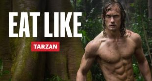 Alexander Skarsgård Diet To Get Shredded for Tarzan Eat Like a Celebrity Men's Health