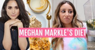 Meghan Markles Diet for the day .. Celebrity Diets Video