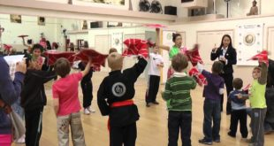 Kung Fu Kids enjoy the Chinese Wellbeing Show