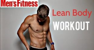 Men's Fitness LEAN BODY WORKOUT ad