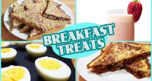 Quick and Easy Breakfast Recipes: Fun Food | Healthy Breakfast Ideas by Hoopla Recipes