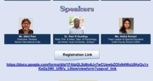 Role of Rehabilitation Professional & Educationist in Mental Wellbeing of Divyangjan covid-19 scenar