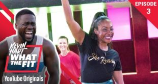 Roller Fitness with Tiffany Haddish   Kevin Hart: What The Fit Episode 3   Laugh Out Loud Network