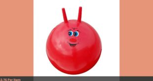 Kindergarten Children's Toy Parent child Bumper Fitness Exercise Ball Gym Fitness Ball Fo...