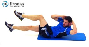 8 Minute Abs Workout Routine - At Home Core Workout