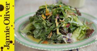 How to make Zero Fat Salad Dressing | Jamie Oliver