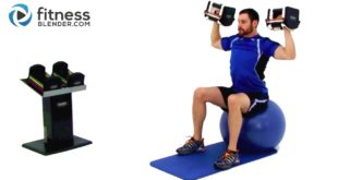 Upper Body Dumbbell Workout - Weight Training with Dumbbells