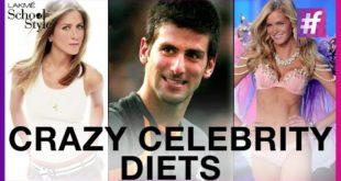 4 Crazy Celebrity Diets, Would You Try Them? | #fame School Of Style