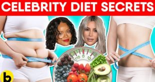 Celebrities' Diet Secrets You Should Know
