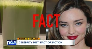 Celery juice and apple cider vinegar—do celebrity diets work? The truth behind these diet crazes