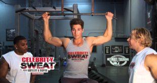 James Maslow Celebrity Workout