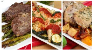 3 Sheet Pan Suppers | Dinner Made Easy