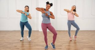 30-Minute Calorie-Burning Cardio Dance Workout That's Perfect For the Holidays