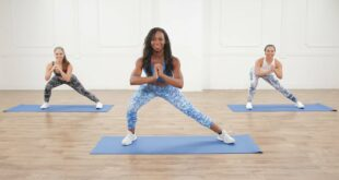 30 Minute Workout No Equipment Full Body Toning