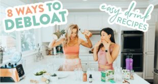 8 Ways to DEBLOAT // Easy Drink Recipes w/ Yovana!