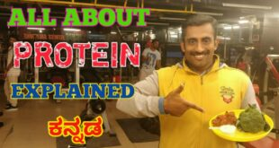 ALL ABOUT PROTEIN IN KANNADA | Celebrity Fitness Trainer Ignis Ramesh