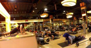 Body Pump class , Celebrity Fitness Indonesia