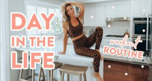 Day In the Life VLOG | My Workouts + What I Actually Eat