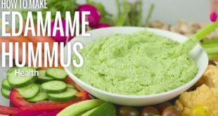 How To Make Edamame Hummus | Health