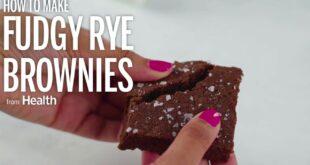 How To Make Rye Brownies | Health