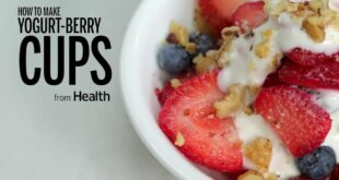 How to Make Greek Yogurt-Berry Cups | Health