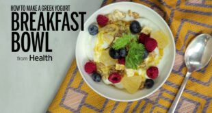How to Make a Yogurt Breakfast Bowl | Health