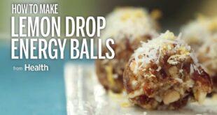 Lemon Drop Energy Balls   Health