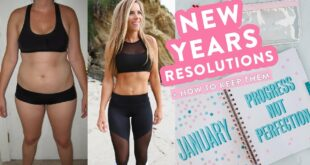 My New Years Resolutions + 3 Tips to Make & KEEP Yours! // Fitness, Health, Self Care