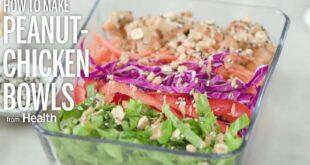 Peanut Chicken Bowls | Health