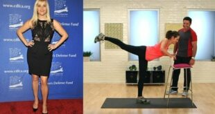 Reese Witherspoon's Leg Workout | Celebrity Fitness | Get the Bod