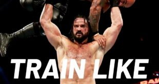WWE Star Drew McIntyre Shows His WrestleMania Chest Workout | Train Like a Celebrity | Men's Health