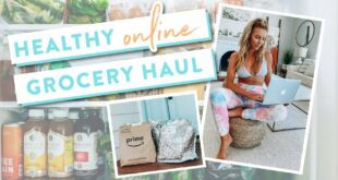 What I Eat In A Day | Online Grocery Shopping Haul!