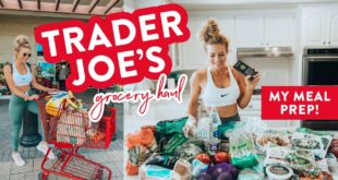 What I Eat in a Week // Trader Joe's Grocery HAUL + JCPenney Try On!