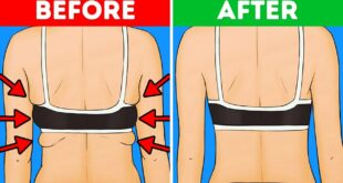 10 Exercises to Get Rid of Back and Armpit Fat In 10 Minutes