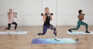 30-Minute Calorie-Torching HIIT Workout With Weights