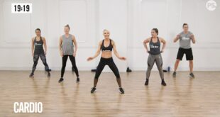 30-Minute No-Equipment Cardio and Strength-Conditioning Workout