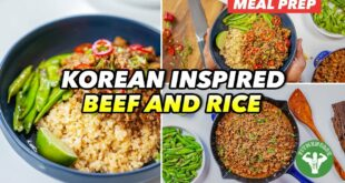 $4 Korean-inspired Beef and Rice Bowl: Budget Meals