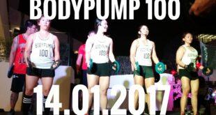 BODYPUMP 100 Celebrity Fitness Malaysia 2017
