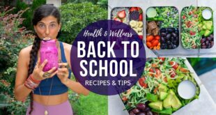 Back to School Health & Wellness Recipes & Tips! 🍎🍌