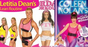 Celebrity Fitness DVDs & Exercise Workouts