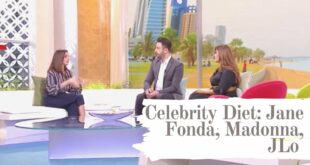Common Celebrity Diets: Jane Fonda, JLo, Madonna by Dietician Tina Choueiri Chagoury