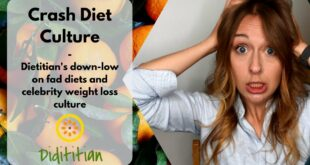 Crash Diets Culture - Dietitian's down-low on Fad diets and celebrity weight loss journeys