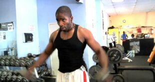Donovan Green, N.Y celebrity fitness coach and as seen on Dr. Oz T.V teaches shoulder workout.