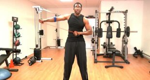 Donovan Green celebrity fitness,family health coach teaches home gym 10 minute workout
